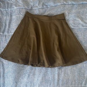 Olive Green Skirt size: small